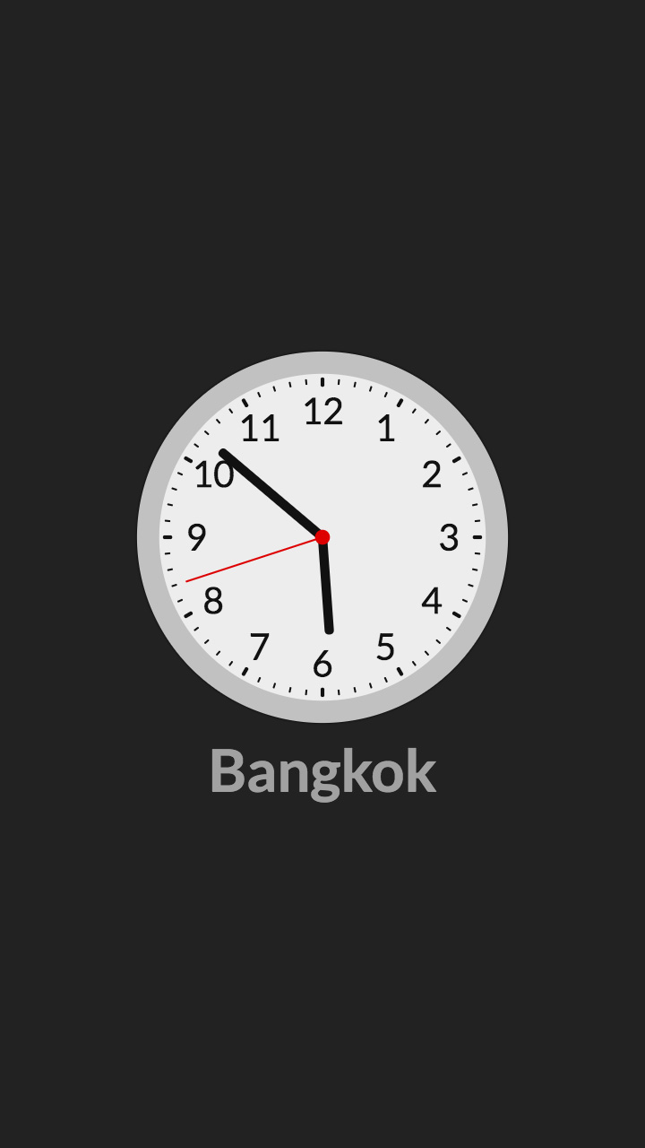 World Clock screenshot 1
